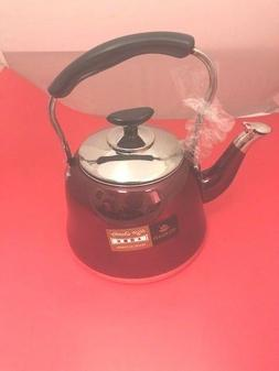 1.0 L Kettle Tea Pot Whistling Classic Stainless Steel
