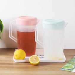 1/2pcs 2000ml Drinking Water Fruit Infuse Juice Bottle Tea P
