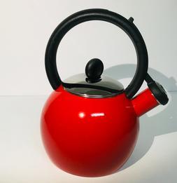 Copco 1.5 qt. Porcelain Enamel Kettle Vienna Red