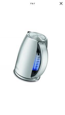Cuisinart 1.7-Liter Electric Cordless Tea Kettle Stainless S