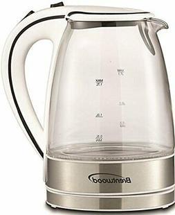 Brentwood 1.7 Liter kt-1900 W Royal Glass Electric Tea Kettl