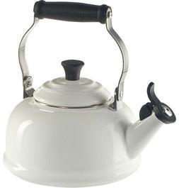 Le Creuset 1.7 qt. Tea Pot Kettle Teakettle Whistling - Whit