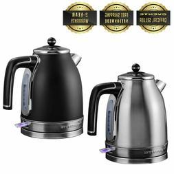 Ovente 1.7L Electric Tea Kettle Auto Shut-Off Anti-Fingerpri