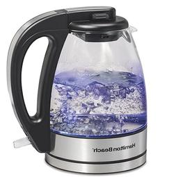 1 7l illuminated glass cordless kettle 40869