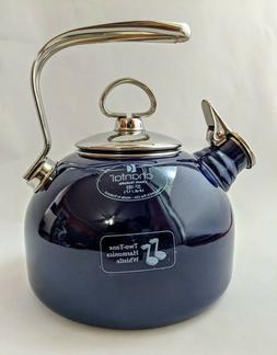 Chantal 1.8 Quart Enamel-On-Steel Classic Teakettle Tea Kett