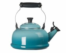 1.8-Quart Whistling Teakettle in Caribbean - Le Creuset - Q3
