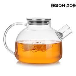 1000ml/1800ml <font><b>Glass</b></font> Teapots Heat Resista