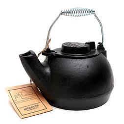 Old Mountain 10129 Pre-Seasoned 2-Quart Cast Iron Tea Kettle