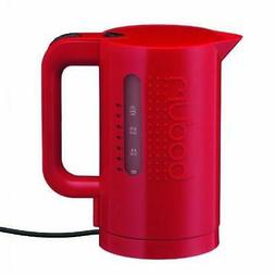 Bodum 11452-294US 34-Ounce Electric Water Kettle, Red