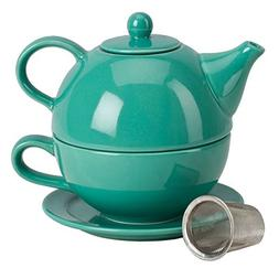 Omniware 1500157 5 Piece Tea For One Teapot Set with An Infu