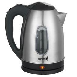1500W Electric Tea Kettle Coffee Pot Hot Water Fast Boil Sta