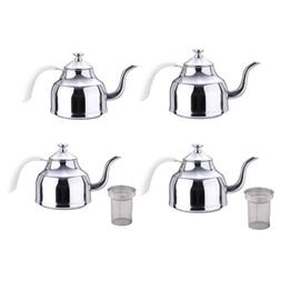 1L 1.2L Stainless Stovetop Induction Kettle Coffee Water Jug