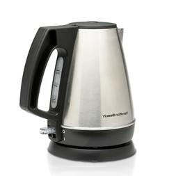 1L Electric Kettle Tea and Hot Water Heater Stainless Steel