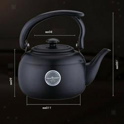 1L Stainless Steel Tea Kettle Stove Top Induction Teapot Kit