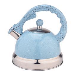 2.64QT Stainless Steel Tea Whistling Kettles Teapot Stovetop