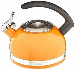 KitchenAid 2-Qt Steel Band Tea Kettle Whistle kten20cbdo Man