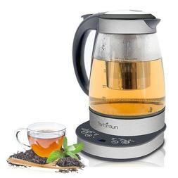 NUTRICHEF 2-in-1 Electric Kettle - Tea Brewing Kettle, Water
