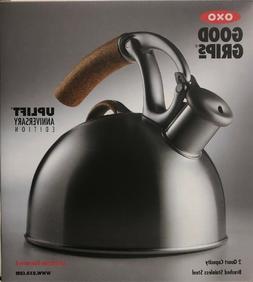OXO 2 Qt 10th Anniversary Edition Brew Uplift Tea Kettle Bru
