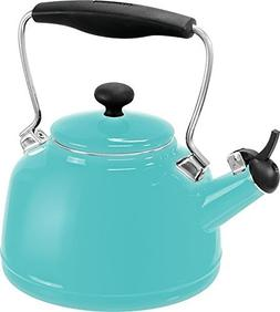 Chantal 2 Quart Aqua Vintage Tea Kettle 37 VINT AQ by Chanta