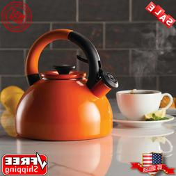 Circulon 2-quart Morning Brew Tea Kettle Induction Ready Ora