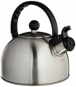 Copco 2503-7797 Tucker Brushed Stainless Steel Tea Kettle, 1