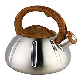 OCATO 3.2 Quart Tea Kettle Stainless Steel Teakettles Whistl