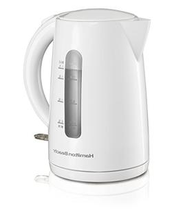 Hamilton Beach 41001 Cordless Kettle, White