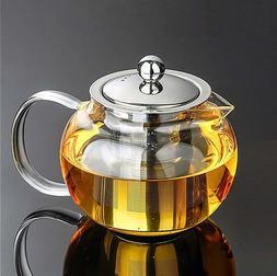 45 oz glass teapot set stylish tea