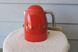 Smeg 50's Retro Style Red Electric Kettle