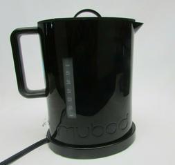 Bodum 5500-01USA Ibis Cordless Electric Water Kettle, Black