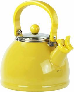 Reston Lloyd 60201 Lemon - Whistling Tea Kettle With Glass L