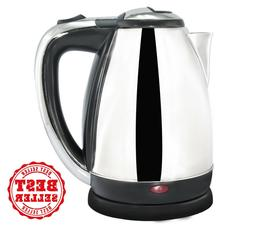Stainless Steel Electric Tea Kettle With Light Indicator,1.9