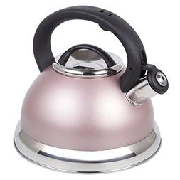 Creative Home 77069 Tea Kettle with Capsulated Bottom Rose G