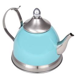 Creative Home 77073 1.0 Qt. Nobili-Tea Stainless Steel Tea K