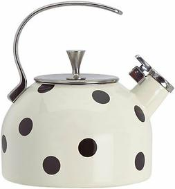 KSNY All in Good Taste 856751 Metal Deco Dot Kettle, No Colo