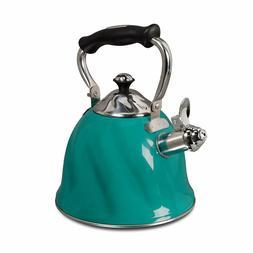 Gibson 92114.01 Alderton Tea kettle, 2.3 Quarts, Green