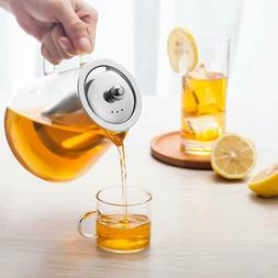 950ml / 32oz Glass Teapot with Infuser Loose leaf Glass Tea