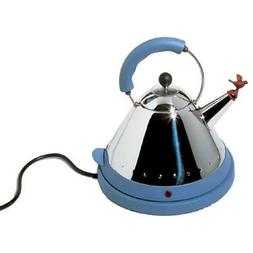 Alessi MG32AZ/USA Michael Graves Electric Kettle, Blue