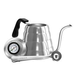 BOCHA - Pour Over Drip Coffee & Tea Kettle, Stainless Steel