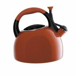 Circulon 2-1/2-Quart Tea Kettle, Red