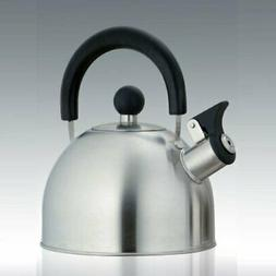 Creative Home 72214R Simplicity Brushed Stainless Steel Tea