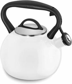Cuisinart CTK-EOS2W Peak Porcelain Enamel on Steel Tea Kettl