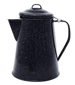 Granite Ware – Coffee, Tea, Water Boiler – For Camping,