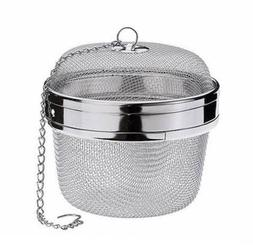 """Happy Sales Spice Ball Herb Infuser Extra Large 3.5""""D, Stain"""