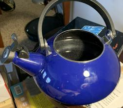 Le Creuset Enamel On Steel 1.6 Qt. Zen Tea Kettle Color, Fla
