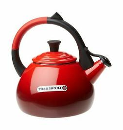 Le Creuset Enameled Steel 1.6 Quart Oolong Tea Kettle, Ceris