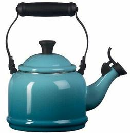 Le Creuset Q9401-17 Enamel-on-Steel Demi 1-1/4-Quart Teakett