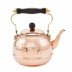 Old Dutch 852 Tea Kettle, 2 Qt, Copper