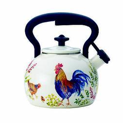 Paula Deen 46255 Signature Teakettle 2 quart Garden Rooster