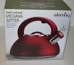 Primula Avalon Whistling Kettle - Whistling Spout, Locking S